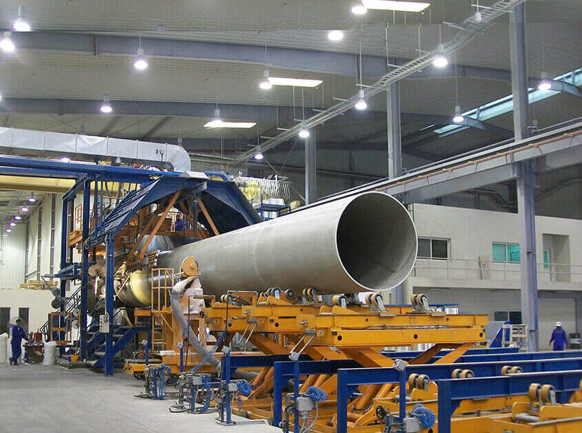 FRP Pipe Production